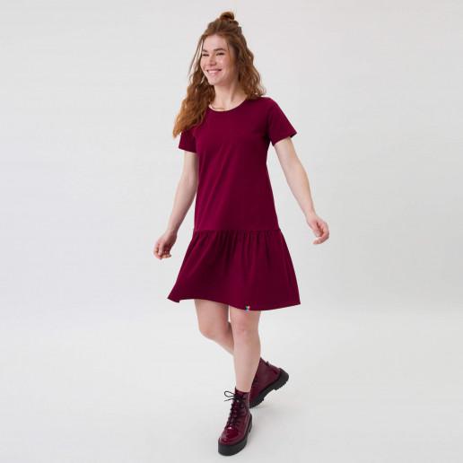 Sukienka z falbanką