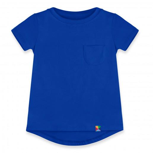 T-shirt z kieszonką Junior