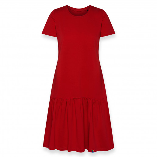 Sukienka z falbanką damska