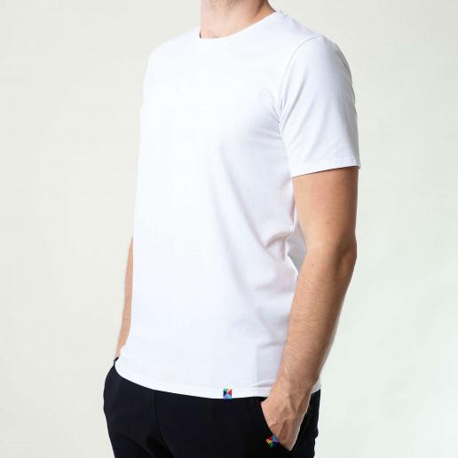 białe t shirty męskie