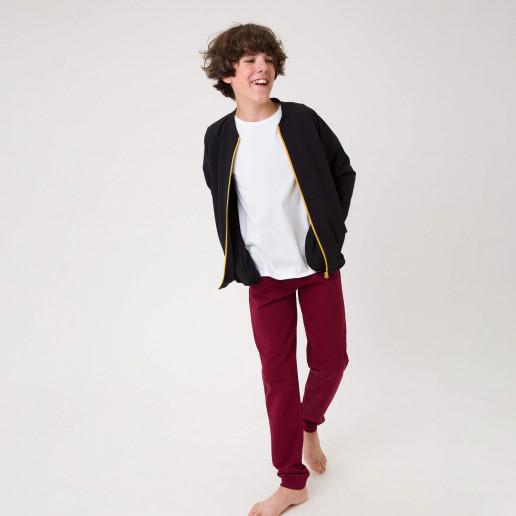 modne bluzy młodzieżowe chłopięce na zamek