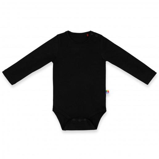 Czarne body z długim rękawem - niemowlęce, dziecięce - dla chłopca, dziewczynki, dziecka, noworodka, niemowlaka