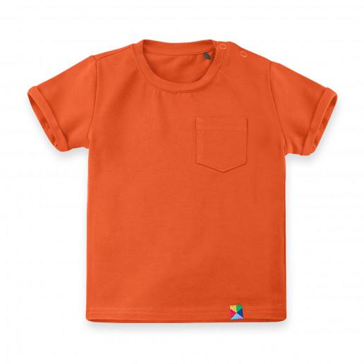 Tania pomarańczowa koszulka dziecięca, niemowlęca