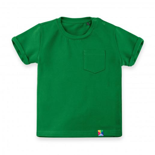 Zielona koszulka, bluzka, tshirt dla dziecka, niemowlaka, noworodka