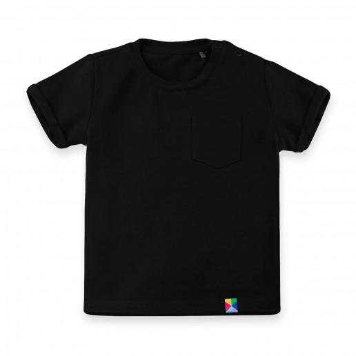 Czarne koszulki dla dzieci, niemowląt, noworodków - rewelacyjne ceny i szybka wysyłka