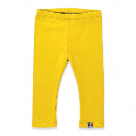 żółte legginsy dziecięce, żółte getry dziecięce, rajstopy i rajtuzy