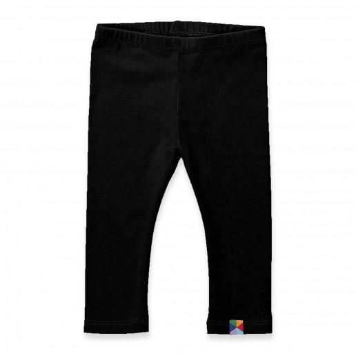 Czarne legginsy niemowlęce, dziecięce - modne getry dla dzieci, niemowląt i noworodków